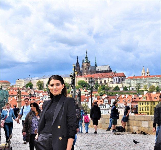 Karolína Kopíncová zVrbna pod Pradědem, Miss Czech Republic 2020.