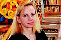 Renata Charousková, krnovská výtvarnice.