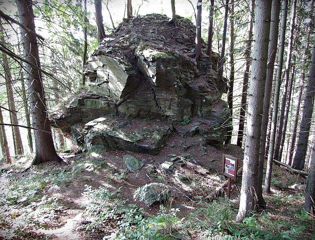 Zřícenina hradu Rabenštejn