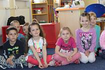 Děti z mateřské školy v Jindřichově.