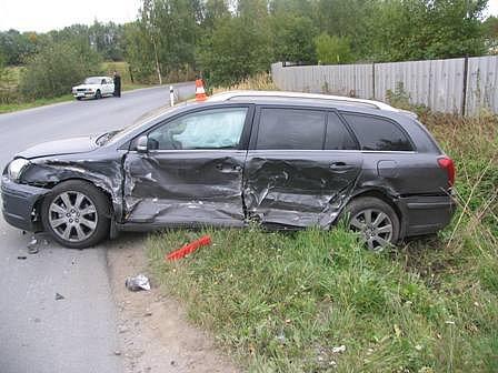 Nehoda v Bruntále.