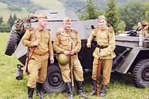 Klub vojenské historie KVH Maxim z Krnova. Ilustrační foto.