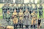 KVH Maxim na akcích vojenské historie obléká sovětské i německé uniformy.