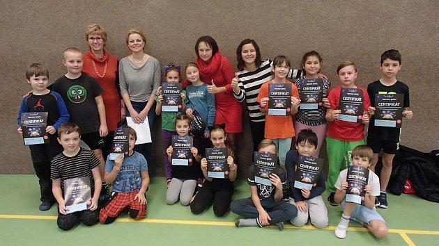PROGRAMU Abeceda peněz se zúčastnilo Šestnáct žáků Základní školy Žižkova vKrnově. Foto: Jitka Vavříková