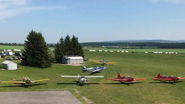 Krnovské letiště - Ilustrační foto.