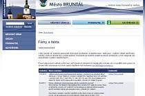 Bruntál má na svých internetových stránkách od minulého týdne novou rubriku, jmenuje se Fakta a fámy.