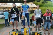 Na nejvyšší stupínek vystoupil Adam Brachtl z Břidličné, stanovil i nový rekord trati.