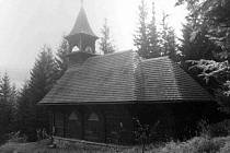 Kaple svaté Hedviky v osadě Vidly, části Vrbna pod Pradědem.