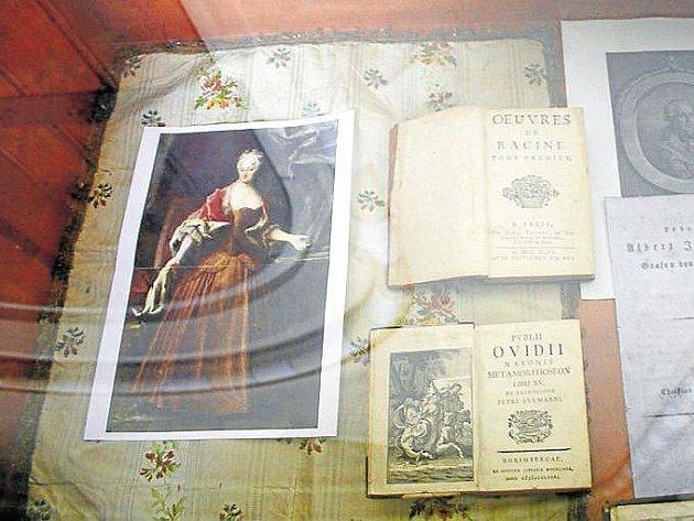 Žofie se narodila jako princezna ze Saska-Weißenfelsu. Byla chotí hraběte Hodice a zesnula ve Slezských Rudolticích roku 1752.Na výstavce ve zdejším kostele je představena na této reprodukci olejomalby.