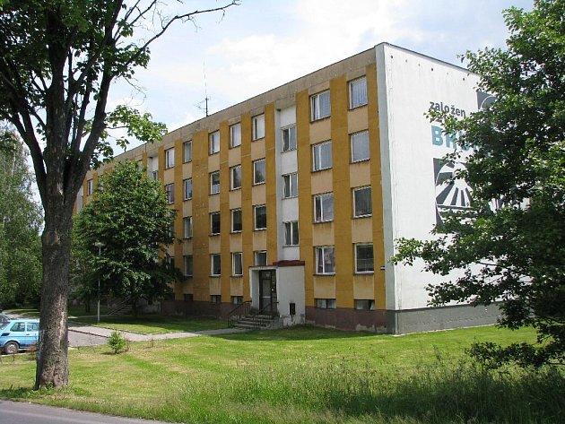 Městské byty na Rýmařovské ulici v Bruntále.