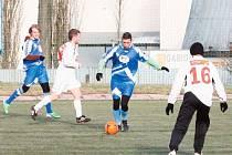 V rámci přípravy na jarní část soutěže změřili síly dva bruntálští městští rivalové Olympia a Slavoj.