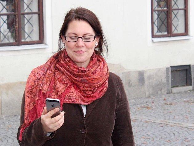 Adéla Chylíková zMěstského informačního centra Bruntál.