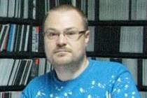 Patrik Herzinger, majitel půjčovny DVD, Krnov.