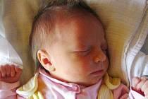 Karin Foldynová, narozena 1. 11. 2010, váha 3, 140kg, míra 47cm, Dívčí hrad. Maminka Kateřina Foldynová, tatínek Jaroslav Foldyn.