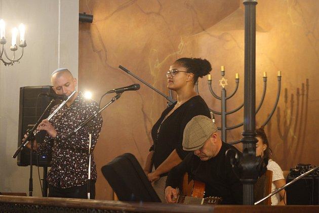 Benefiční koncert Světlo porozumění připomenul oběti holocaustu zžidovské komunity Krnovska a pomohl rodině devítiletého Šimona Schulze trpícího vážným onemocněním: lámavostí kostí.
