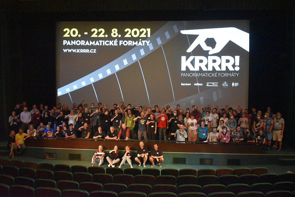 Mezinárodní filmový festival KRRR! v Krnově, srpen 2021.