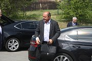 Návštěva ministra zemědělství  Jiřího Milka v okrese Bruntál. Ilustrační foto.