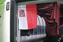Nehoda autobusu s polskými poutníky
