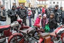 Motorkářské vítání jara v Bruntále