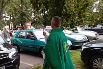 Krnovská pouť ke sv. Kryštofovi a žehnání aut a motorek na Cvilíně.
