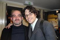 Josef Polášek se zůčastnil premiéry promítání dokumentu Cinematerapie v pražském kině Oko.
