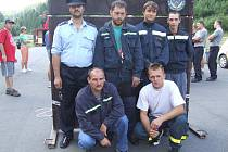 Razovští hasiči. Partu nezlomných nadšenců nejvíce proslavilo pořádání náročné soutěže Hartaman.