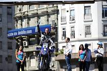 Yamaha číslo 68 je jediným strojem, který má na Rallye Dakar bruntálský Czech Dakar Team poté, co přišel o oba závodní kamiony Tatra.