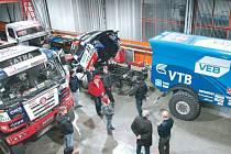 Fat Boy staroměstského kamionisty Martina Kolomého přijede do Bruntálu v sobotu 21. března, před kinem si jej může prohlédnout kdokoliv.
