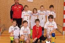 Malí fotbalisté Olympie Bruntál si vedli na turnaji ve Šternberku velice dobře a potvrdili to ziskem třetího místa.