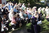 Pouť přilákala na Cvilín během neděle na tisíc věřících.