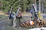V Jeseníkách se konal další ročník armádní soutěže Winter Survival.