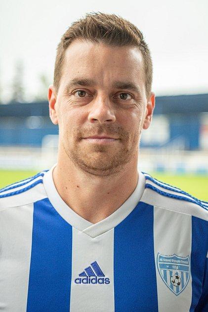 Fotbalový klub FC Slavoj Olympia Bruntál, 25.září 2020vBruntále. Ondřej Kušnír