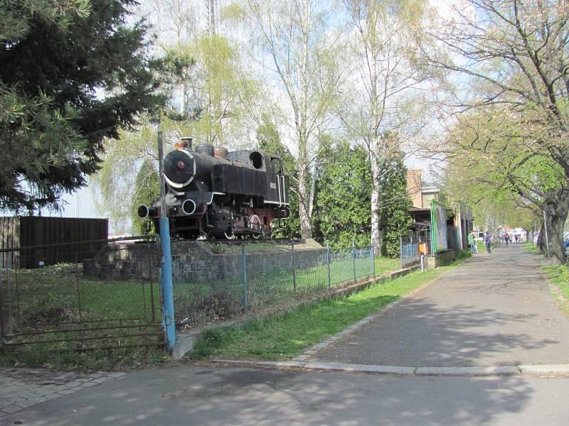 Krnovská lokomotiva Bufan.