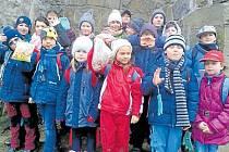 Děti ze školní družiny při základní škole Žižkova měly zajímavé jarní prázdniny.
