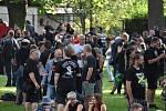 Festivalu Monster Meeting v Krnově. Organizátoři do poslední chvíle netušili, zda se podaří zmírnit tvrdá hygienické opatření na Krnovsku, kde aktuálně není evidovaný ani jediný případ nákazy koronavirem.
