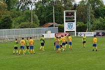 Krnovští fotbalisté otočili zápas s opavskou devatenáctkou. Foto: Jan Pitřík