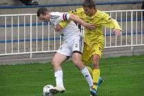 V zápase z neděle 18. října porazil favorizovaný Lískovec krnovské fotbalisty jen těsně 5:4.