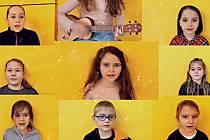 Z vánočního videoklipu dětí z Brantic.