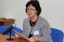 Jarmila Novotná je předsedkyní spolku Onko Niké. Spolek sdružuje aktivní ženy, které prošly zkušeností s rakovinou prsu.