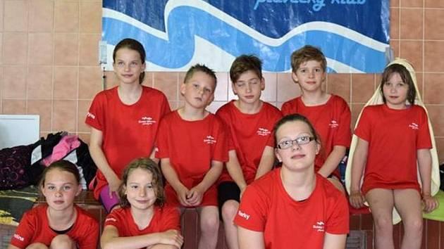 Mladí bruntálští plavci předvedli svou formu na přeborech v kopřivnickém bazénu.