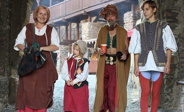 Oblíbená rodinná akce na hradě Sovinci