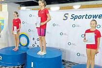 Bruntálská děvčata brala medaile.