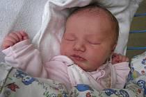 Michaela Adámková, narozena 24.5.2009, váha 3,4 kg, míra 50 cm, Andělská Hora. Maminka: Hana Caletková, tatínek: Jan Adámek.