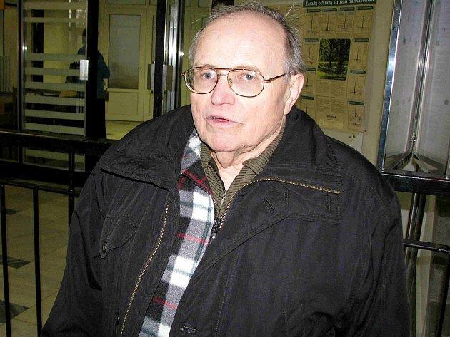 Sbormistr z Bruntálu Jaroslav Číhal