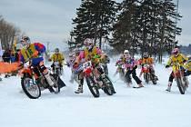 Závody v Motoskijöringu mají v Horním Městě na Rýmařovsku velkou tradici. Však se také letos jel místní závod jako součást Mistrovství České republiky.