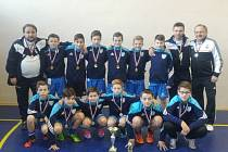 Velkého úspěchu dosáhli mladší žáci FC Slavoj Olympia Bruntál na mezinárodním turnaji ve slovenském Štúrovu, kde se stali zaslouženými vítězi.