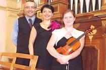 Na setkání s duchovní hudbou vystoupí v sobotu 4. října v 19 hodin Trio Campagnuollo z Oder.