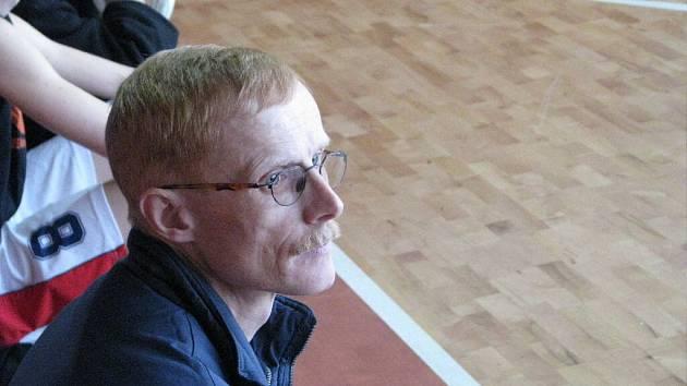 Trenér Jan Kovařík.