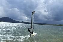 Slezskou Hartu si oblíbili také surfaři.