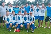 Vítězství v okresním finále a postup do krajského finále Poháru VV MS KFS si vybojovali mladší dorostenci Jiskry Rýmařov.